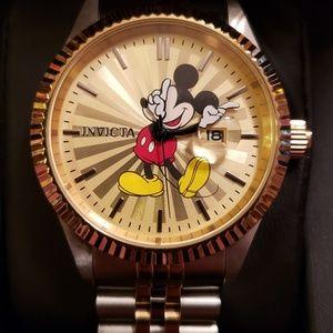 Mens Disney Invicta Mickey Mouse watch